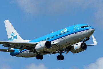 KLM vliegtuig sur Sjoerd van der Wal