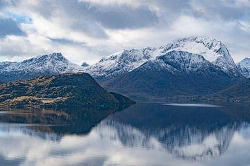 Fjord nahe Sortland von Kai Müller