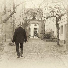 Oude Bornhof, hofje in Zutphen. van Ron Poot