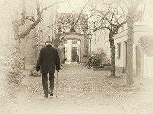 Oude Bornhof, hofje in Zutphen. van