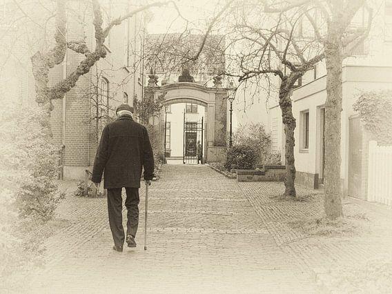 Oude Bornhof, hofje in Zutphen.