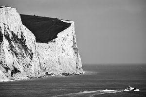 White cliffs of Dover van