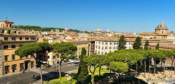 Blick über Rom von Arjan Penning