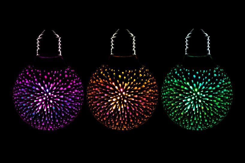 Decoratieve led lamp van Tanja van Beuningen