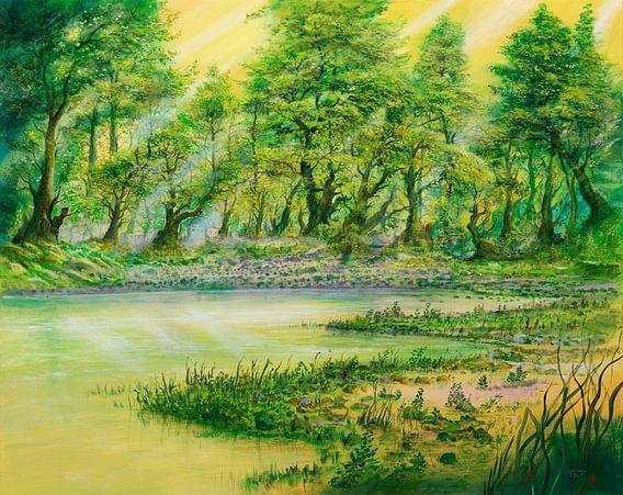 Waldseeschattenhaus van Silvian Sternhagel