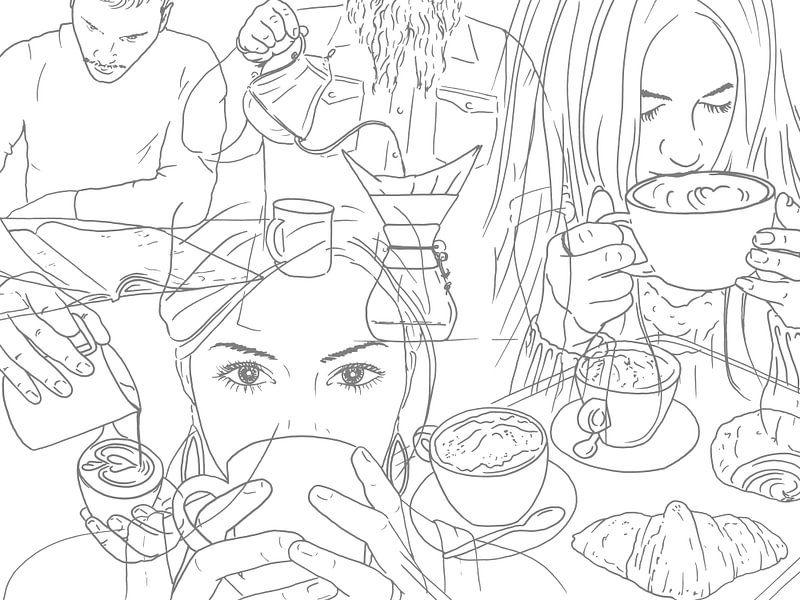 Kaffeeliebhaber von Natalie Bruns