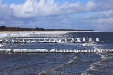 Ostsee im Winter von Thomas Jäger