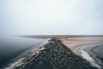 Golfbreker in de mist! van Peter Haastrecht, van