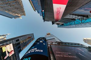 Wolkenkratzer am Times Square