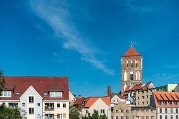 Blick auf die Östliche Altstadt von Rostock von Rico Ködder