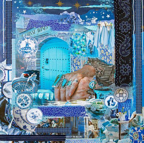 Cultuurmix in blauw
