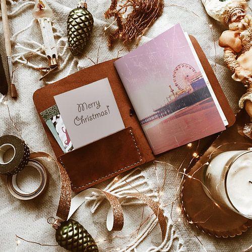 Merry Christmas Santa Monica Pier Reisetagebuch von Christine aka stine1