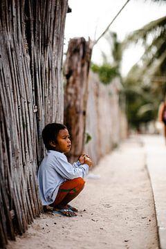 Enfant aux Philippines sur Yvette Baur