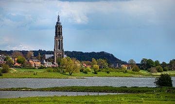 Cunerakerktoren in Rhenen, Nederland van Adelheid Smitt
