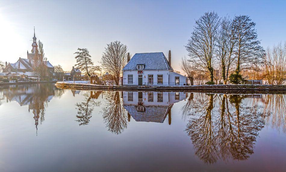 Het Veerhuis in Rotterdam Overschie van MS Fotografie