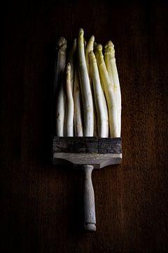 verfkwast of asperges? van Clazien Boot