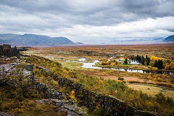 Þingvellir, IJsland van Fenna Duin-Huizing