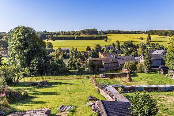 Landschap in de Ardennen 3 van Thomas van der Willik