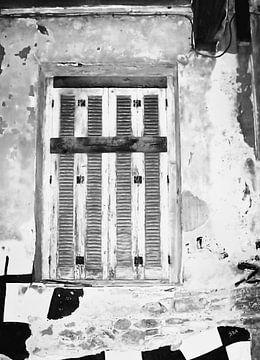 Verschlossen-2-bw von Pia Schneider