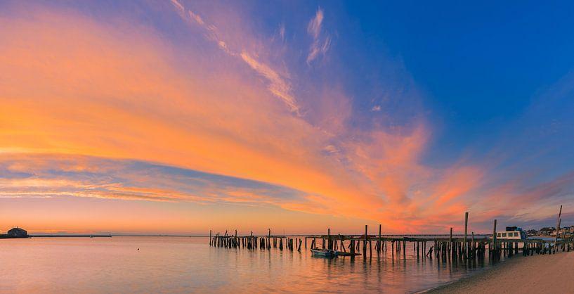Sonnenaufgang in Provincetown, Cape Cod, Massachusetts von Henk Meijer Photography