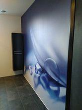 Kundenfoto: Weicher farbiger Tropfen von Birgitte Bergman, auf nahtloser fototapete