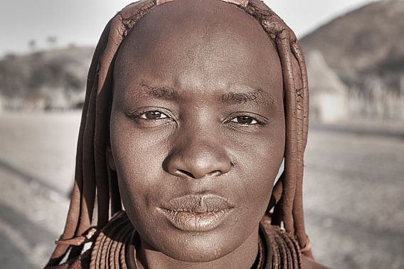 Himba Woman Portrait 4/4