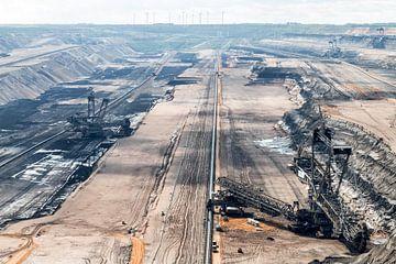 Bruinkool afgraving van Rijk van de Kaa