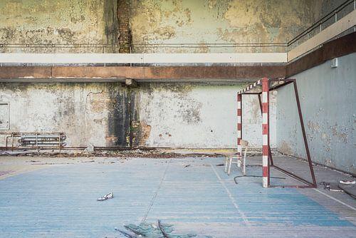 VoetbalzaalTsjernobyl van