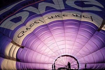 In een luchtballon II van Wouter Bos