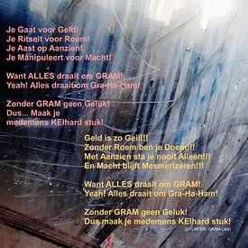 Strip Splinter Goes Urban (GRAM-lied) von MoArt (Maurice Heuts)