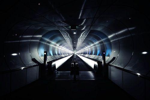 Wilhelminatunnel in Rotterdam van Valerie Leroy Photography