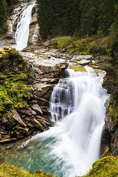 Watervallen van Krimml van Coen Weesjes