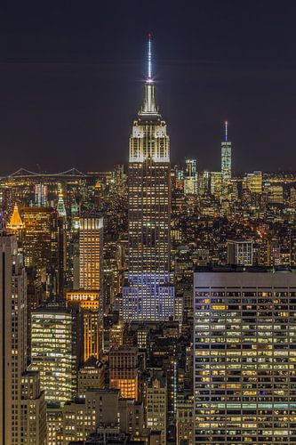 New York Skyline - View from the Top of the Rock 2016 (3)