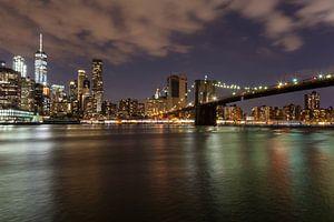 New York in de avond