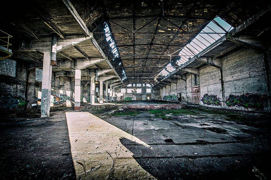 Industrieanlage verlassen van Jens Alemann
