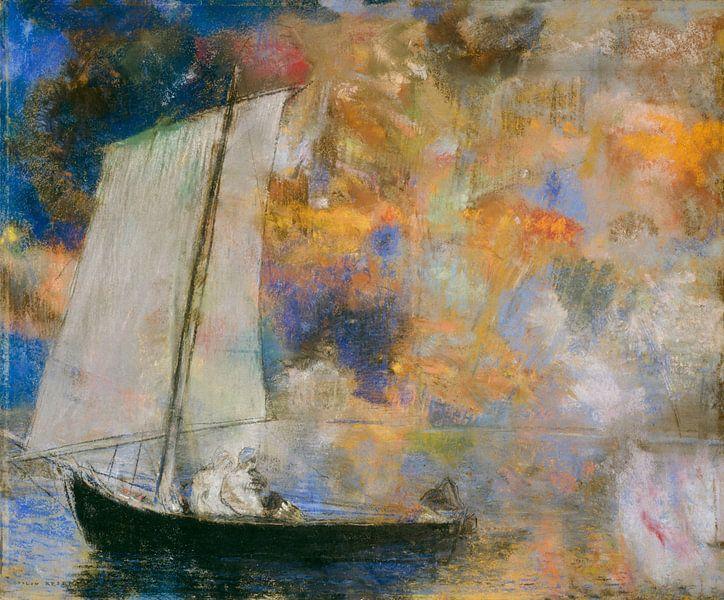 Bloemenwolken, Odilon Redon van Meesterlijcke Meesters