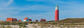 Panorama Texel van Nederland op Foto