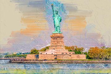 New York Freiheitsstatue von Peter Roder