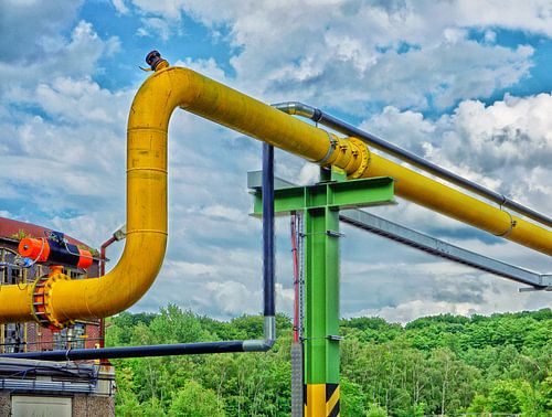 The yellow Pipe