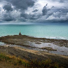 Gewitter in Granville von Ricardo Bouman