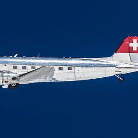 Vliegtuig Dakota, Douglas DC-3 van Inge van den Brande