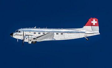 Flugzeug Dakota, Douglas DC-3 von Inge van den Brande