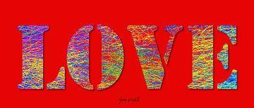 Love Abstract JM0042 von Johannes Murat