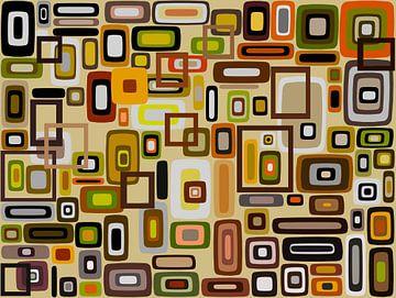 Composition abstraite 663 sur Angel Estevez