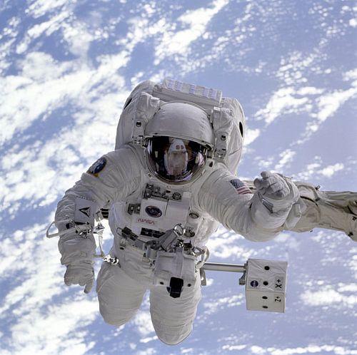Astronaut Ruimtewandeling van