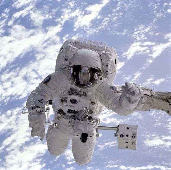 Astronaut Ruimtewandeling van Digital Universe