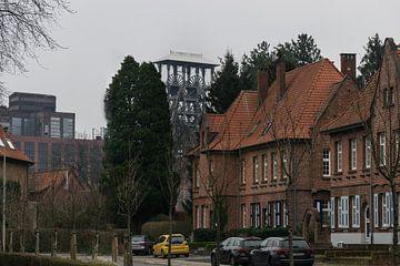 Arbeiderwijk bij de fabriek