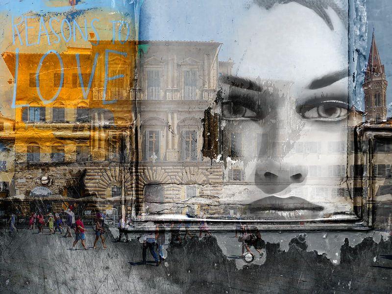 Looking at the street life of Florence van Gabi Hampe