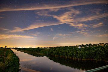 Comète Neowise (2) sur Henk v Hoek