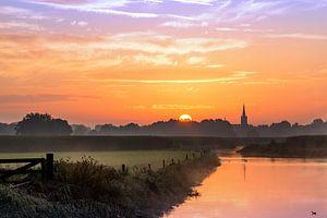 Zonsopkomst bij Heeswijk